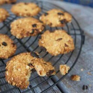 【ココナッツオイル使用】おからのザクザククッキー