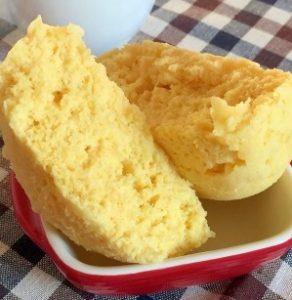 ダイエット応援☆おからのフワフワ卵蒸しパン レシピ・作り方
