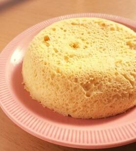 糖質制限◆生おからで簡単レンジ蒸しパン