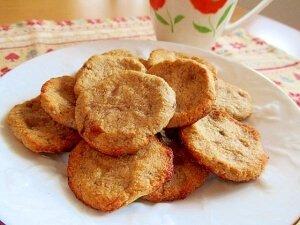 しっとりおからバナナとうふクッキー レシピ・作り方