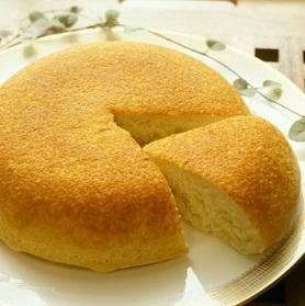 おからdeもっちり炊飯器ケーキ