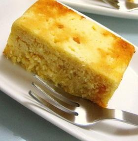 おからDEホワイトチョコ♡チーズケーキ