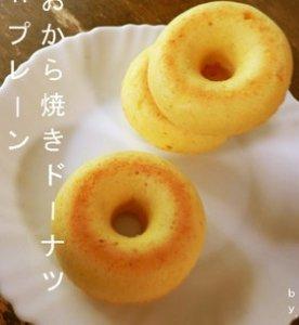 おから焼きドーナツ:プレーン