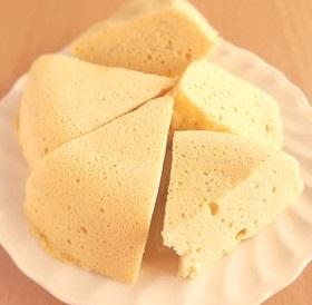 糖質制限◆簡単!おからヨーグルト蒸しパン