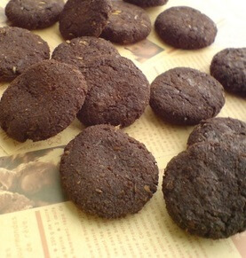 小麦粉なし&ノンオイル☆おからのクッキー