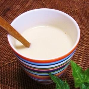ホットな!! 豆乳きな粉ドリンク♪ レシピ・作り方