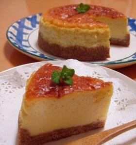 簡単へルシー 豆乳チーズケーキ