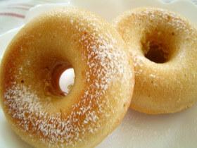 簡単★豆乳ときなこの焼きドーナツ