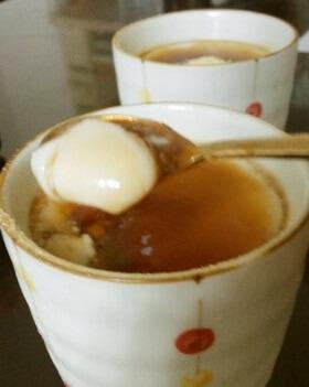 寒天で☆とろとろぷるぷる☆豆乳プリン