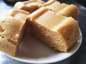 レンジで簡単!しっとりおからきなこケーキ