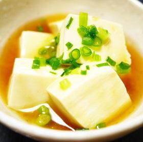 朝食の一品に◆絹ごし豆腐の生姜あんかけ