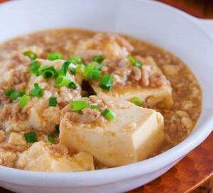 煮るだけ5分♪包丁いらず『崩し豆腐の上海風♡そぼろあんかけ』
