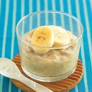 豆乳バナナプリン