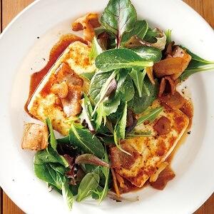 ベーコン豆腐ステーキ
