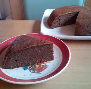 炊飯器でおからココアケーキ