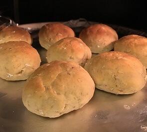 オートミールおからパン